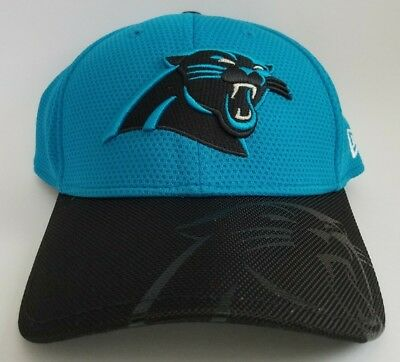 eb12306d3 Men s Carolina Panthers New Era Blue 2016 Sideline Official 39THIRTY Flex  Hat