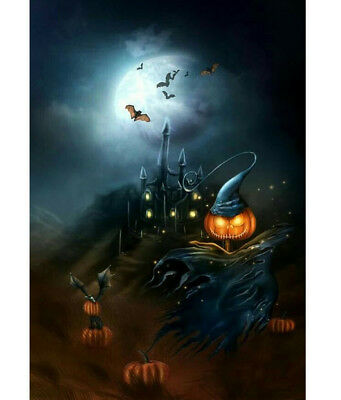 Halloween Is Coming Haunting Time Image & Cross Stitch Pattern