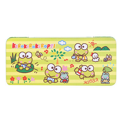 2016 Sanrio Keroppi Frog Metal Pencil Case Pen Box Free Shipping