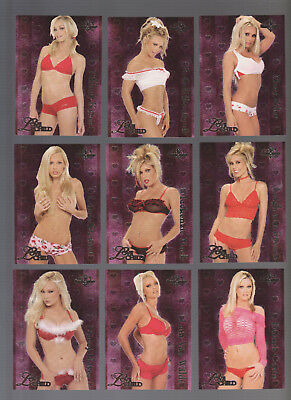 2004 Bench Warmer Complete Love Child Foil 10 Card Set - Bonus Buy 1 Get 1 Free