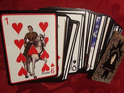 Lenormand Playing Cards deck ( fortune telling, Tarot, lenormand )
