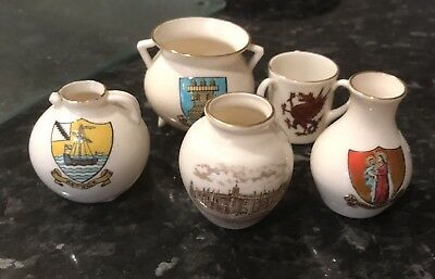 W H Goss Crested Ware Missenden Rare Isle Of Wight Wales St Mary's Keswick