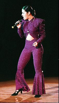 Selena Quintanilla Purple Jumpsuit Inspired Costume Read