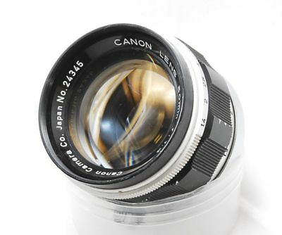 [EXC ] Canon 50mm F1.4 Leica screwmount MF Lens from Japan #0304