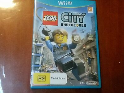 LEGO City Undercover (Nintendo Wii U, 2013) GREAT CONDITION AS NEW WITH MANUAL