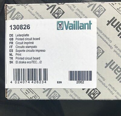 Vaillant Ecomax PCB Brand New In Sealed Box 130826