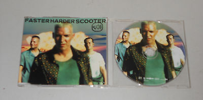 Maxi Single CD  Scooter - Faster Harder Scooter   1999  5.Tracks  sehr gut  174