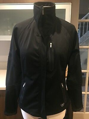 Ladies Ariat Riding Jacket Techincal Windproof Fabric Size S Great Condition