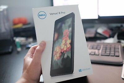 Dell Venue 8 Pro 3845 32GB, Wi-Fi, 8in - Black Tablet - Excellent condition
