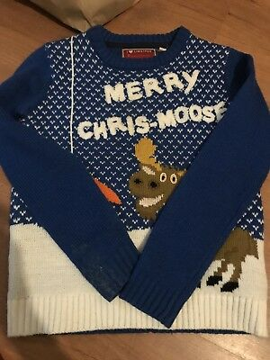 Boys Christmas Jumper 7-8