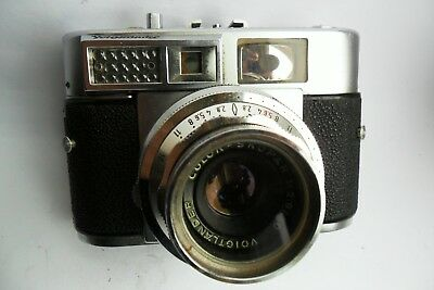 Voigtlander Vitomatic 11 35mm rangefinder and case fully working and film tested