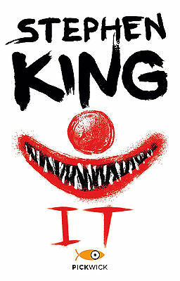 IT STEPHEN KING  romanzo HORROR FANTASY letteratura libro
