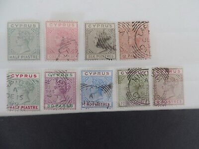 Fine Used Stamps From Cyprus