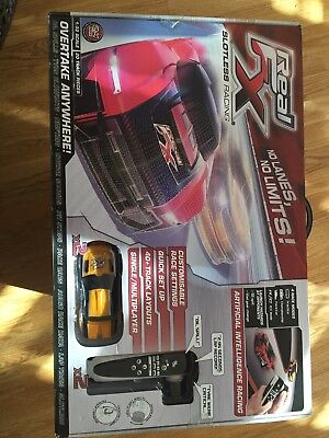 Real Fx Slotless Racing Set With Two Cars Brand New In Box