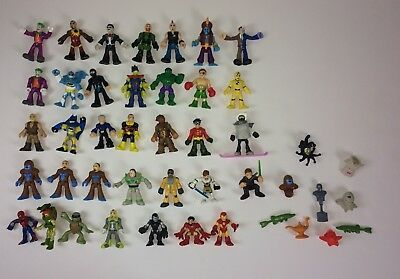 Imaginext Figures Lot Hulk DC Comics Bat Man Poison Ivy TMNT