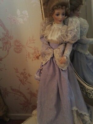 Gorgeous China lady doll collectors item