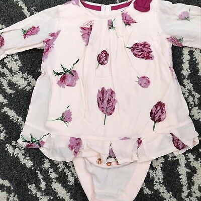 Baby Girl Ted Baker Tunic Top 6-9 Months