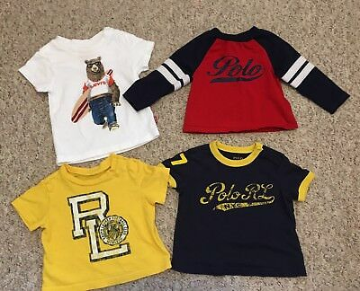Ralph Lauren Tshirts and Levi's tshirt