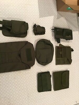 Mix Of Green Molle Pouches
