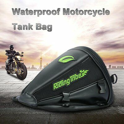 New Motorcycle Tank Bag Helmet Tail Waterproof Luggage Riding Tribe Travel Tool