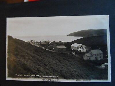 mays series postcard aberdaron roberts post office carnarvonshire pavillion