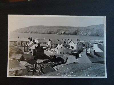 postcard aberdaron by judges p/u 1963  29399  carnarvonshire by pwllheli