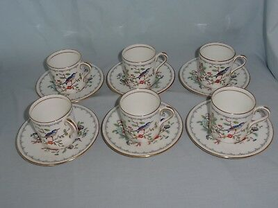 AYNSLEY coffee set : Pembroke pattern
