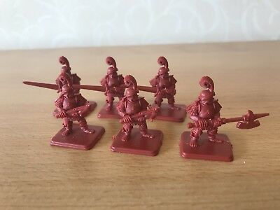 Heroquest Set of 6 Men at Arms Wizards of Morcar original plastic minis 80s!