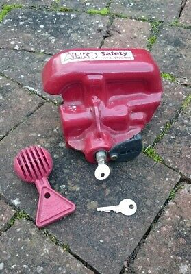 Alko hitch lock with towball and two keys