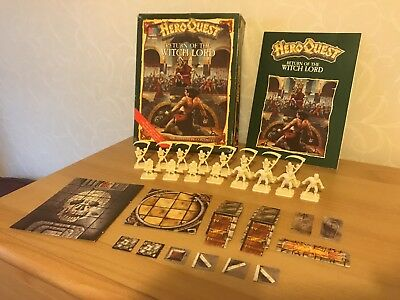 Heroquest return of the witch lord expansion pack - Incomplete (missing tiles)