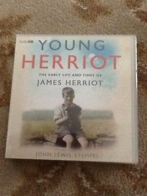 Young Herriot The Life And Times Of James Herriot On Cd (6 Cd's) New