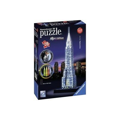 Puzzle Chrysler Building Night Edition 3D