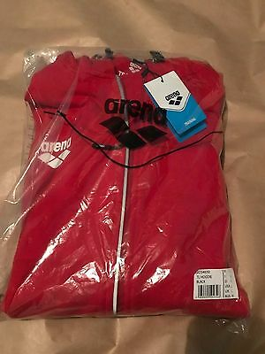 BRAND NEW! ARENA Swimwear - Team-line - Premium Training hoodie - Large - Red