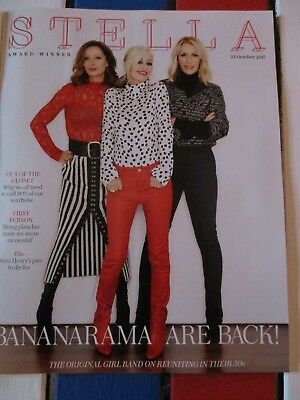 UK The Telegraph Stella Magazine Bananarama Cover Clippings Interview Reunion