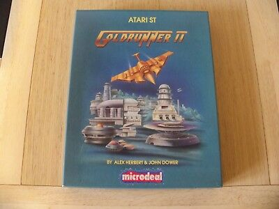 Leatherneck & Gold Runner II By Microdeal For The Atari ST
