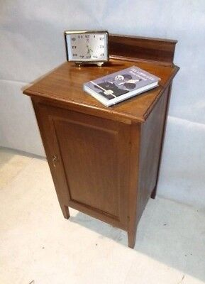 ANTIQUE VICTORIAN MAHOGANY POT CUPBOARD c1890-1910 BEDSIDE CABINET NIGHT STAND
