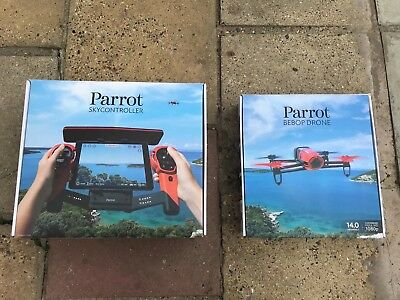 Parrot Bebop Drone with SkyController - Boxed, Hardly Used, Fully working!