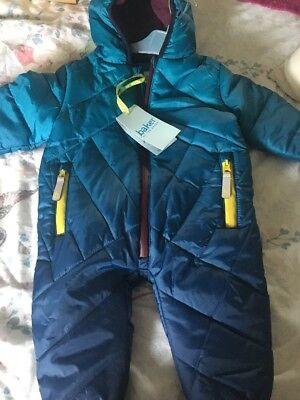 BNWT TED BAKER SNOW SUIT 3-6 Months Xmas Gifts Winter Clothes