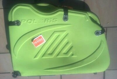 Polaris hard bicycle travel case - green