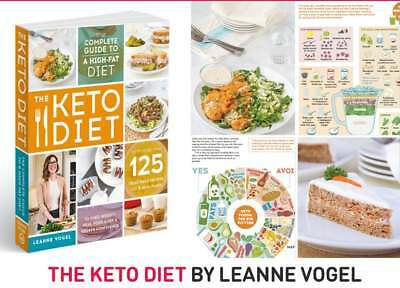 The Keto Diet by Leanne Vogel Guide to a High-Fat Diet Cooking eBooks PDF