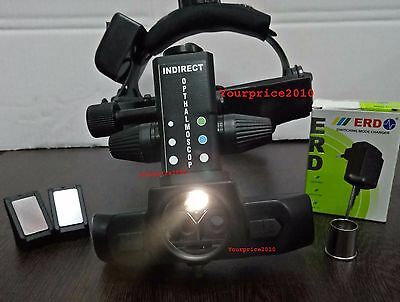 Rechargeable Wireless Indirect  Ophthalmoscope With  Accessories KFW K73