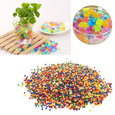 1000Pcs Water Balls Crystal Pearls Jelly Gel Beads for Orbeez Toys Colorful MA99