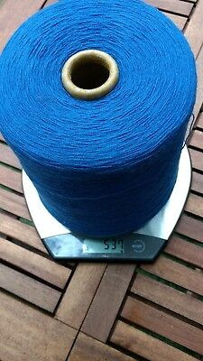 Machine knitting yarn - cone of 537g