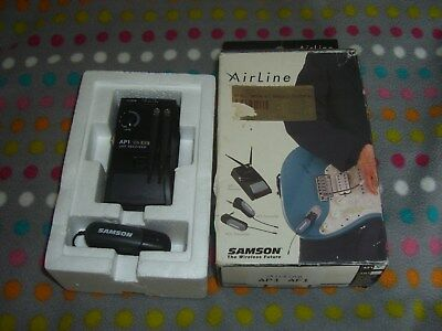 Samson Airline UHF Wireless AP1 Receiver and AF1 Transmitter, boxed unused