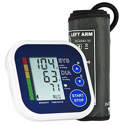 LiSmile Upper Arm Blood Pressure Monitor with Wide-Range Cuff, Accurate Portable
