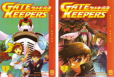 Manga GATE KEEPERS - lot complet intégral tomes 1 à 2 - Keiji GOTOH - TBE