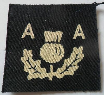 3rd Anti-Aircraft Division Painted Formation Sign