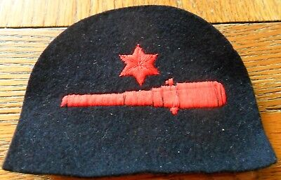 WW2 Royal Marines Petty Officer Gunner Embroidered Arm Badge