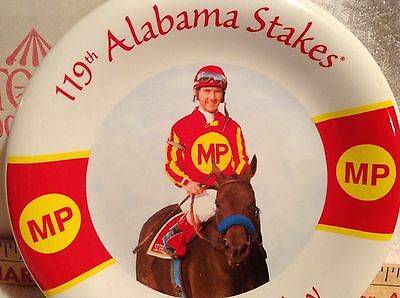 NYRA,Alabama Stakes,Plate,Horse Racing,W/Box,Ltd.Jerry Bailey,Silverbulletday