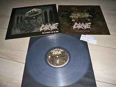 Grave - Out Of Respect For The Dead - Clear Vinyl - LP - Darkthrone